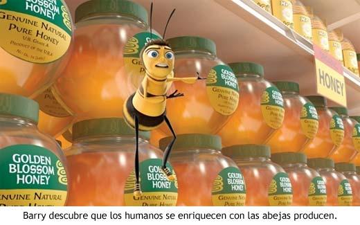 Bee Movie - Barry descubre que los humanos se enriquecen con la miel