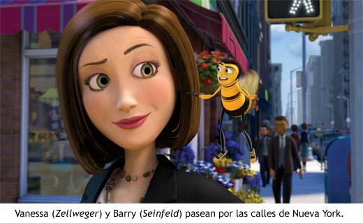 Bee Movie - Vanessa y Barry