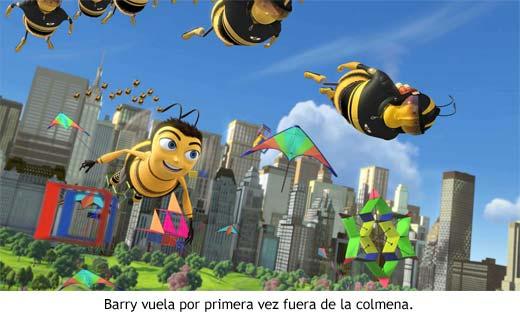 Bee Movie - Barry vuela fuera de la colmena