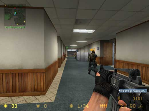 Counter-Strike: Source - Hablando mientras disparamos