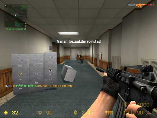 Counter-Strike: Source - Ganan los antiterroristas