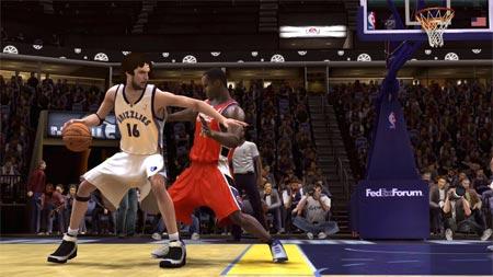 NBA Live 08 - Pau Gasol