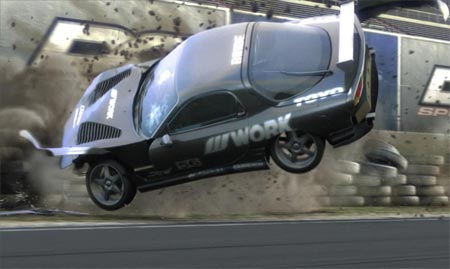 Need For Speed ProStreet - Choque