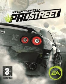 Need For Speed ProStreet - Carátula