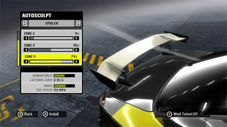 Need For Speed ProStreet - Tunning