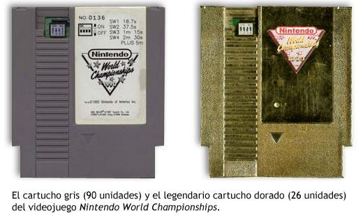 Nintendo World Championships - Cartuchos
