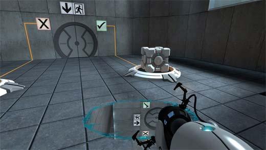 Portal - Creando un portal en el suelo