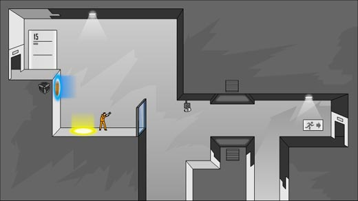 Portal en versión Flash