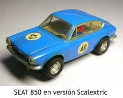 Scalextric - SEAT 850