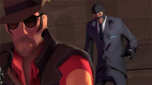 Team Fortress 2 - Sniper y Espía