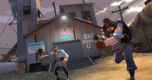 Team Fortress 2 - Soldier y Demoman
