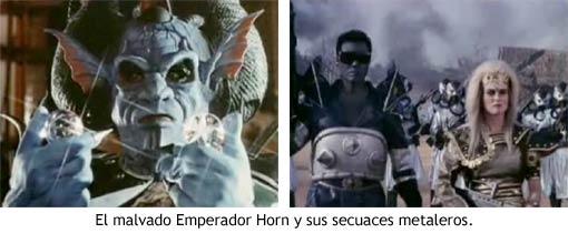 Dragon Ball: Comienza la Magia - El malvado emperador Horn