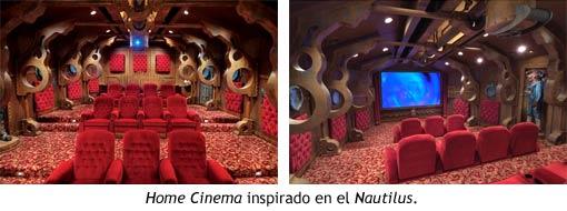 Home Cinema inspirado en el Nautilus del capitán Nemo