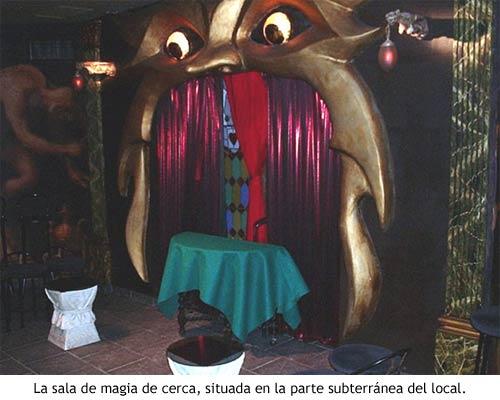 Houdini Madrid - Sala de magia de cerca