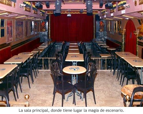 Houdini Madrid - Sala principal