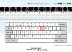 Aprende mecanografía online