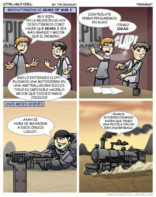 Gears 2 - Traingun