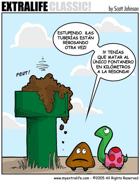 Mario Bros - Tuberías atascadas
