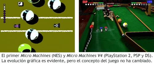 Micro Machines - Videojuegos