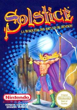 Solstice - NES - Carátula