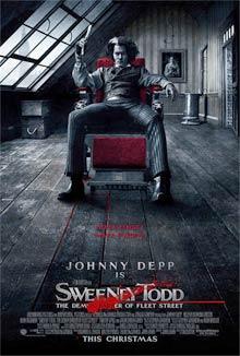 Sweeney Todd - Cartel de la película