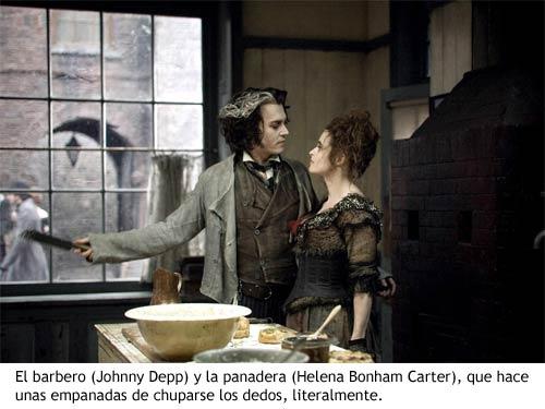 Sweeney Todd - El barbero y la panadera