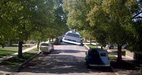 DeLorean volador