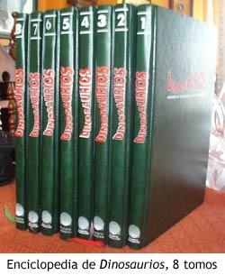 Dinosaurios - Los ocho tomos de la enciclopedia de Planeta deAgostini