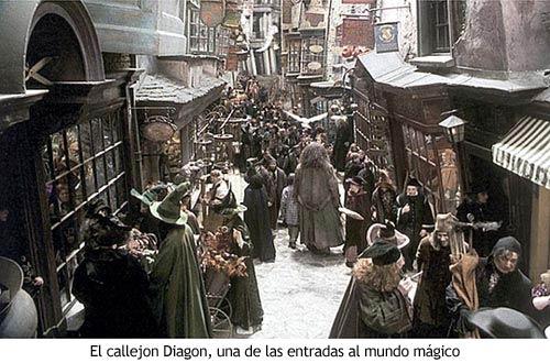 Harry Potter - El callejón Diagon