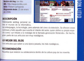ion litio en 'La Gran Guía de los Blogs 2008'