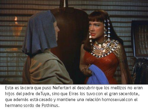 Los Diez Mandamientos - Nefertari
