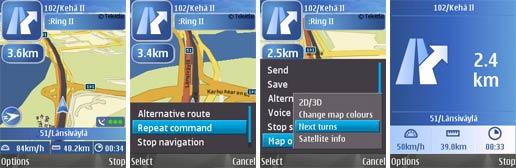 Nokia Maps GPS