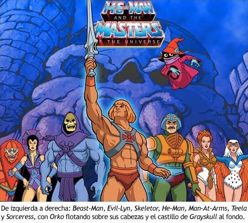 He-Man y los Amos del Universo - Personajes