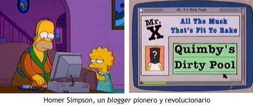 Los Simpson - Homer y la web del Señor X