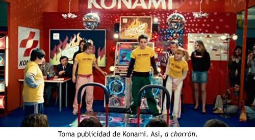 La máquina de bailar - Konami