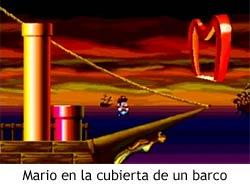 Super Mario's Wacky Worlds - Barco