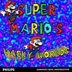 Super Mario's Wacky Worlds - Carátula del juego
