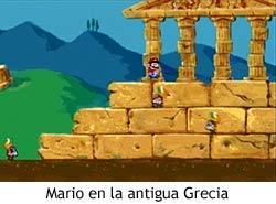 Super Mario's Wacky Worlds - Grecia