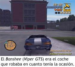 GTA III - Banshee