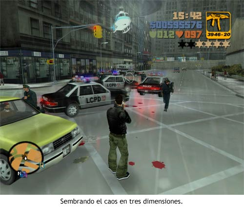 GTA III - Sembrando el caos