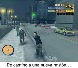 GTA III - Hacia una nueva misión
