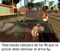 GTA San Andreas - Drive by