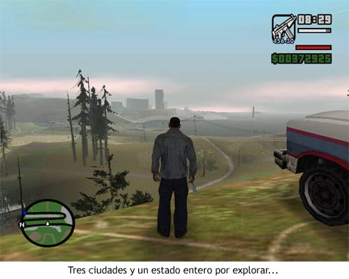 GTA San Andreas - Un estado entero por explorar