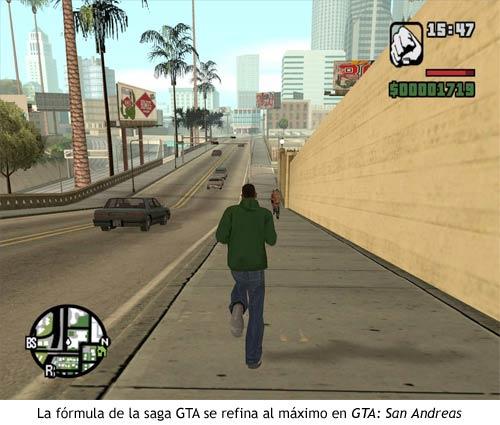 GTA San Andreas - Fórmula