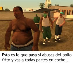 GTA San Andreas - CJ gordo