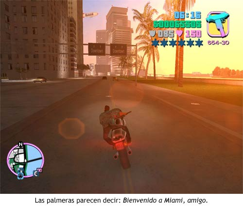 GTA Vice City - Palmeras