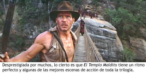 Indiana Jones y el Templo Maldito - La entrega menos reconocida de la trilogía original