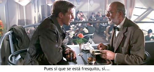 Indiana Jones y la Última Cruzada - Escena en el zeppelin