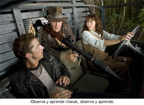 Indiana Jones 4 - Observa y aprende