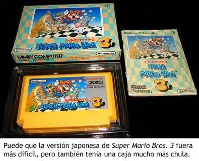 Super Mario Bros. 3 - Versión japonesa